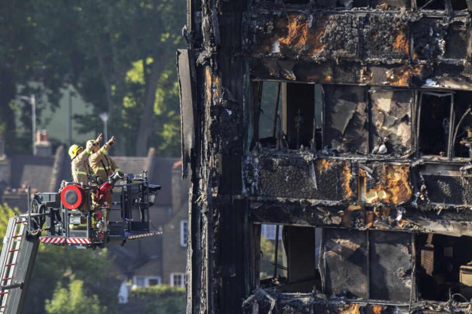 Das verheerende Feuer kostete mindestens 17 Menschen das Leben.