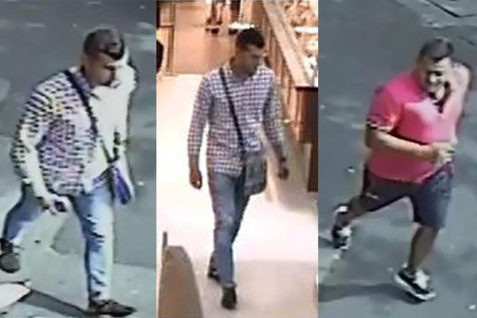 Diese drei Männer sollen im August 2016 einen älteren Mann brutal überfallen haben.