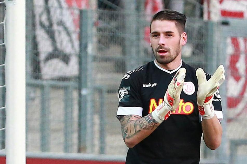 Philipp Pentke war nach seinem Comeback im CFC-Stadion zufrieden.