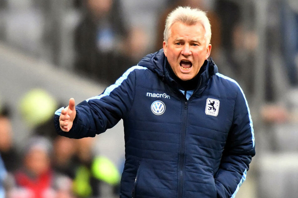 Benno Möhlmann (62) - hier noch im Dress von 1860 München - ist neuer Cheftrainer beim SC Preußen 06.
