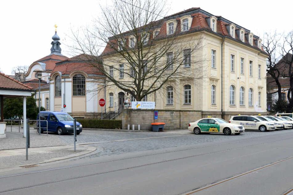 Das Krankenhaus Friedrichstadt.