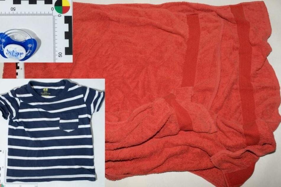 Die Polizei hatte ein Foto von den Gegenständen veröffentlicht, die Hinweise auf die Mutter geben könnten.