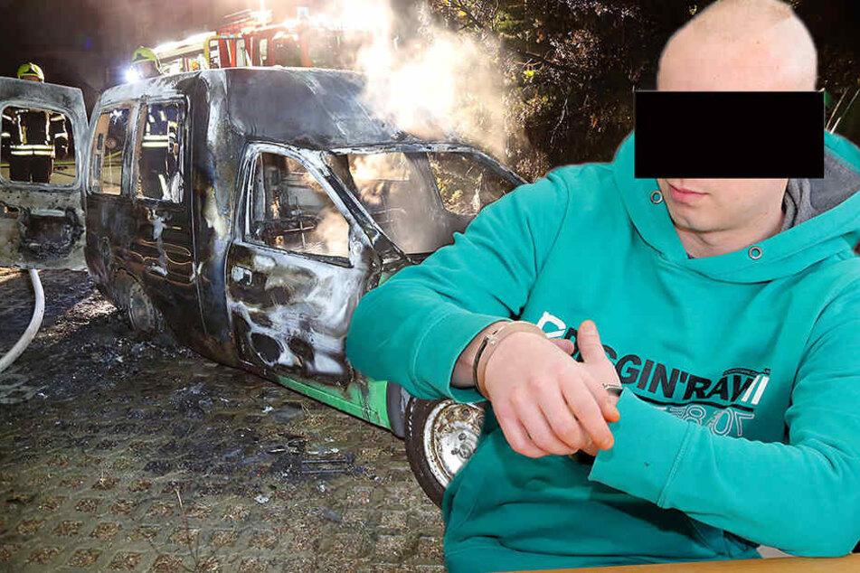 Er wollte eine Bewährungsstrafe: Autozündler chancenlos vor Gericht