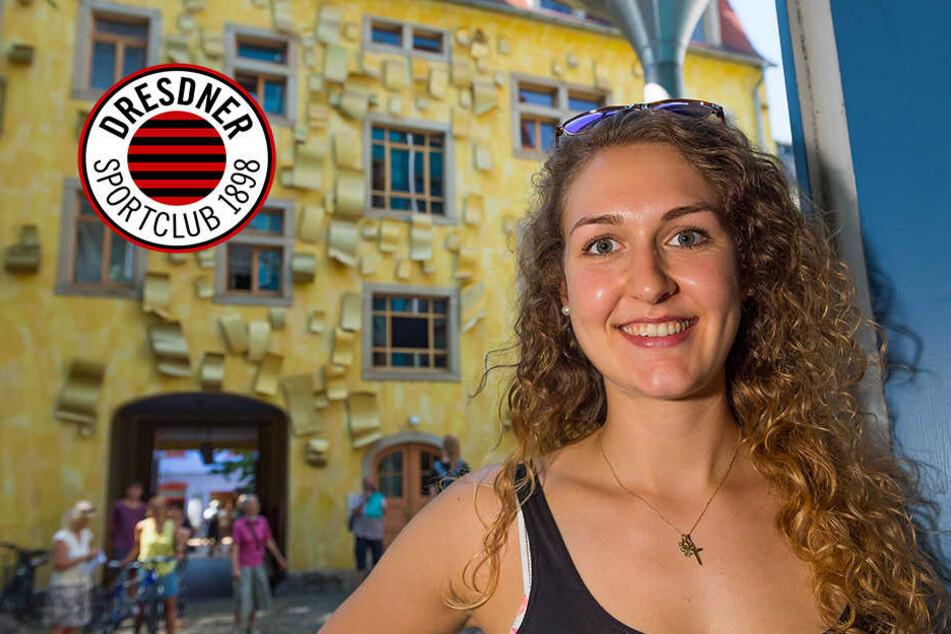 Über Umwege zum DSC: Barbara Wezorke zurück in Dresden
