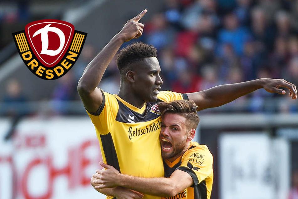 Traumtore! Kreuzer und Mlapa schießen Dynamo zum ersten Sieg in Heidenheim