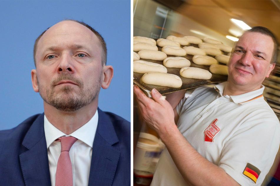 Marco Wanderwitz (45, CDU, l.) und Roland Ermer (57, CDU).