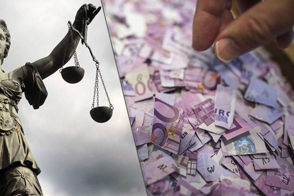 Oma zerreißt aus Angst Geld, jetzt soll Bundesbank blechen