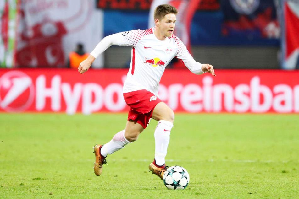 Dominik Kaiser ist bei RB Leipzig eine Klublegende mit 167 Einsätzen, 34 Toren und 35 Vorlagen.