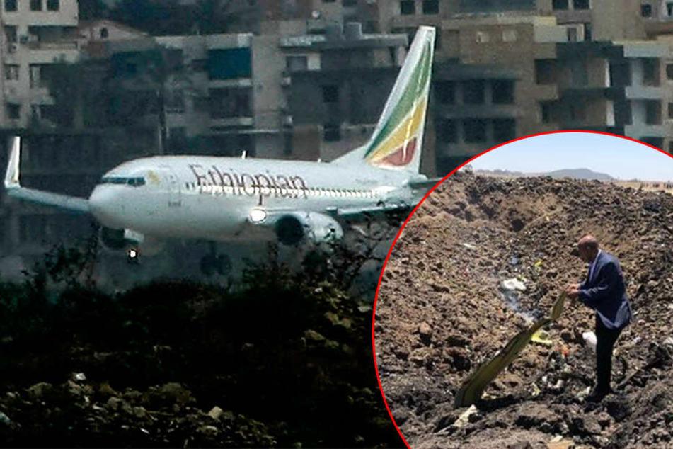 Flugzeug stürzt kurz nach Start ab: 157 Tote, darunter auch Deutsche