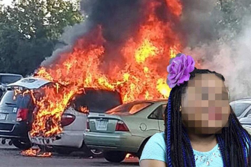 Mädchen (6) stirbt, weil Mann auf Parkplatz Essen kochen will