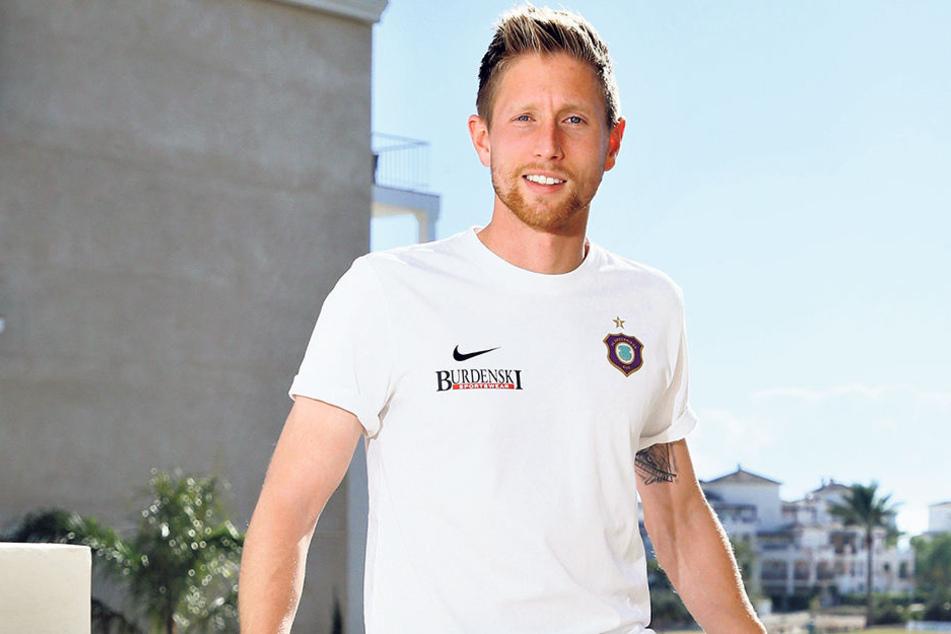 Sebastian Hertner fühlt sich beim FCE wohl. Er will die 100 Spiele für den Verein bis zum Saisonende vollmachen - und dann seinen Vertrag verlängern.
