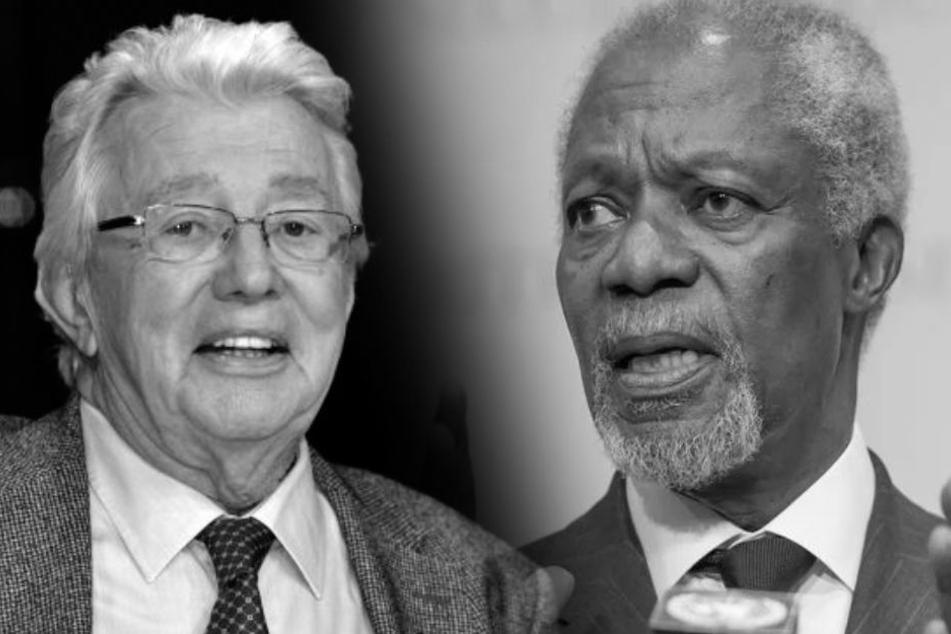Dieter Thomas Heck und Kofi Annan.