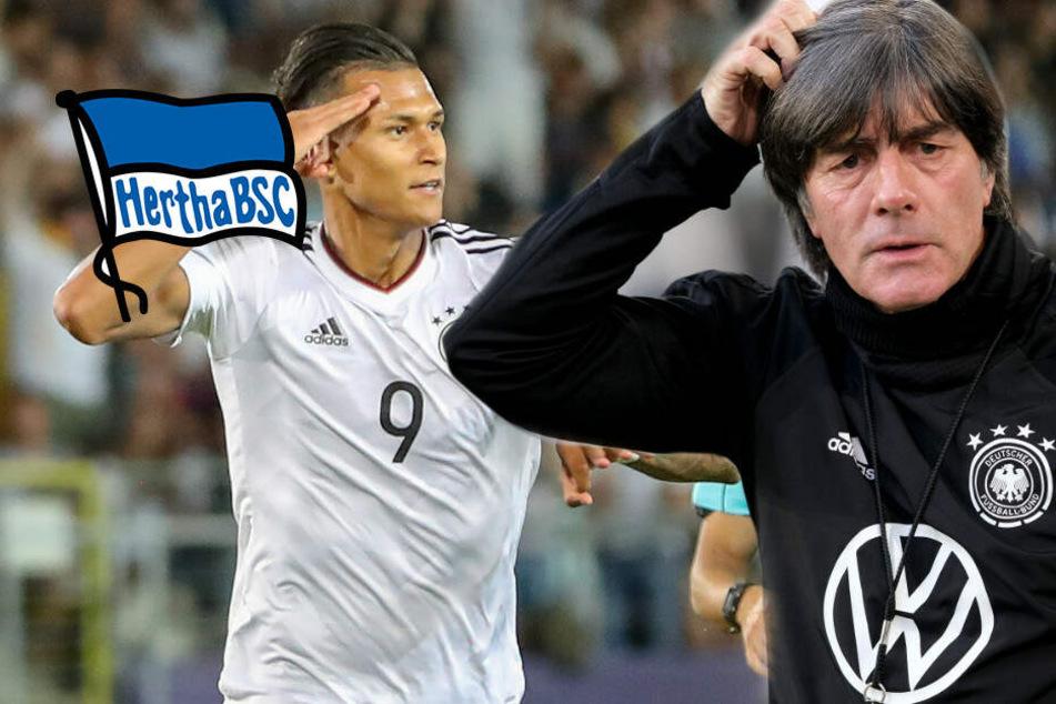 """Davie Selke: Erst bei Hertha """"Taten sprechen lassen"""", dann zu Jogi Löw?"""