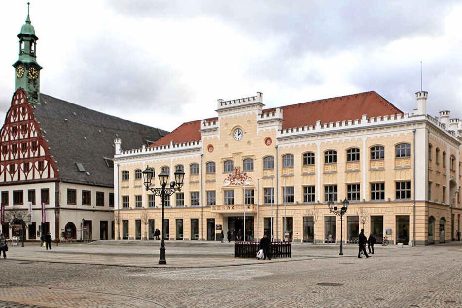 Ränkespiele im Zwickauer Rathaus.
