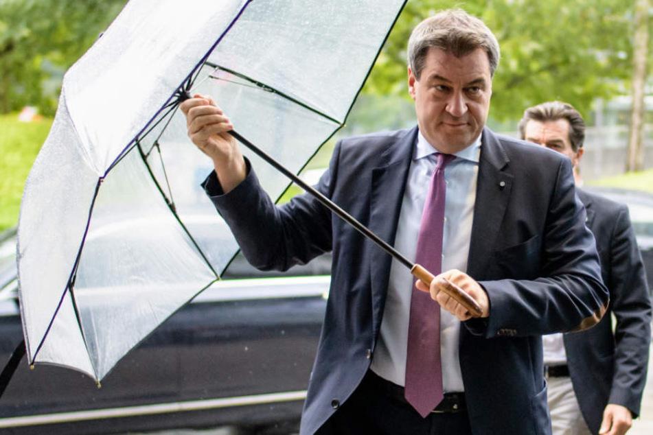 Bayerns Ministerpräsident Markus Söder sieht sich einer Klage gegenüber. (Archivbild)