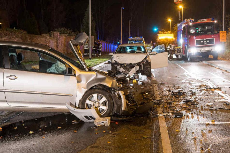 Im Suff: Mann verursacht Unfall mit zwei Schwerverletzten