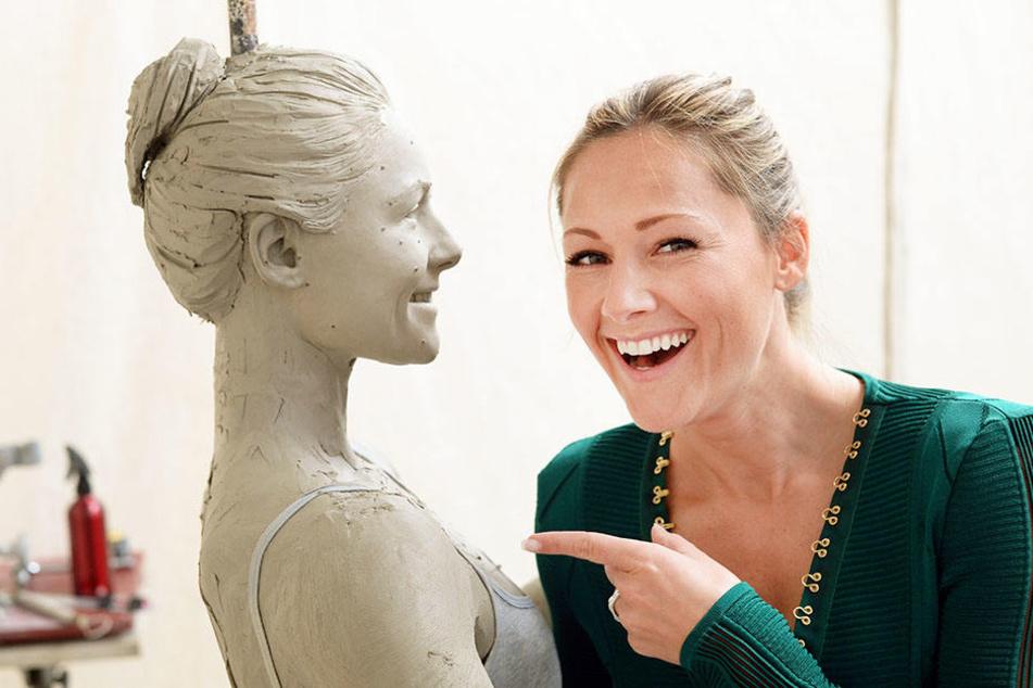Mitte März wurde in der Werkstatt von Madame Tussauds in London bereits die Tonfigur für die neue Wachsfigur angefertigt.