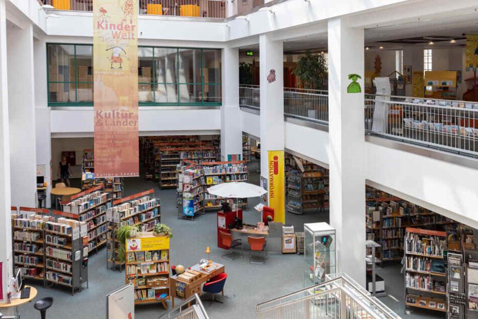 Mehr als eine halbe Million Besucher nutzen voriges Jahr die Angebote der Stadtbibliothek.