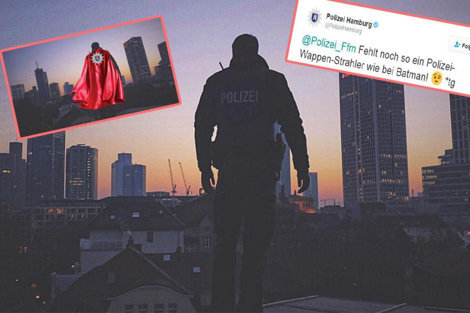 Darum machen sich Polizisten auf Twitter über Kollegen-Foto lustig