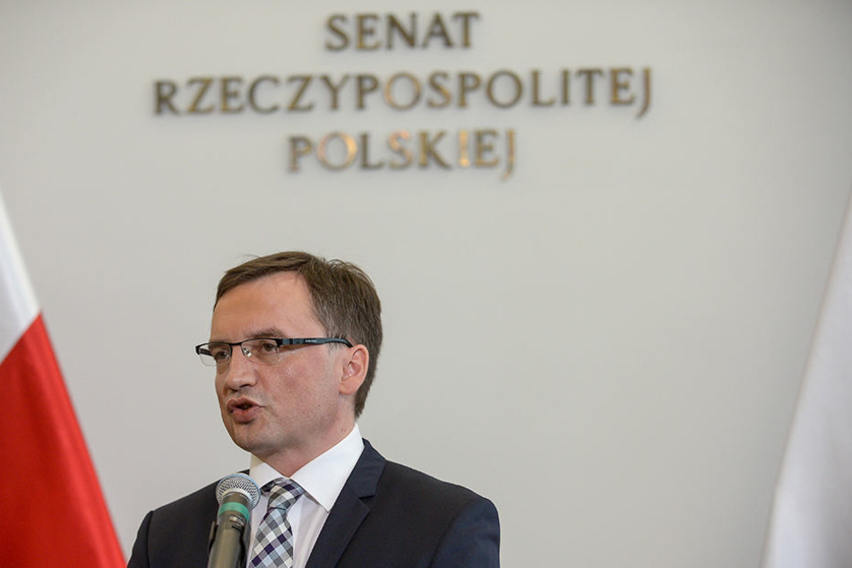Der polnische Justizminister Zbigniew Ziobro.