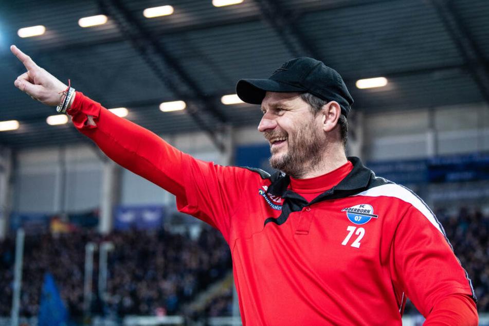 Steffen Baumgart absolvierte 63 Spiele (21 Tore) für den 1. FC Union Berlin.