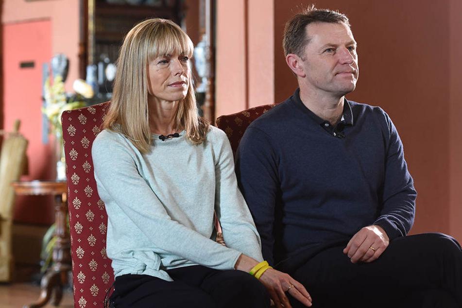 Kate und Gerry McCann wollen die Suche nach ihrer Tochter Maddie nicht aufgeben.