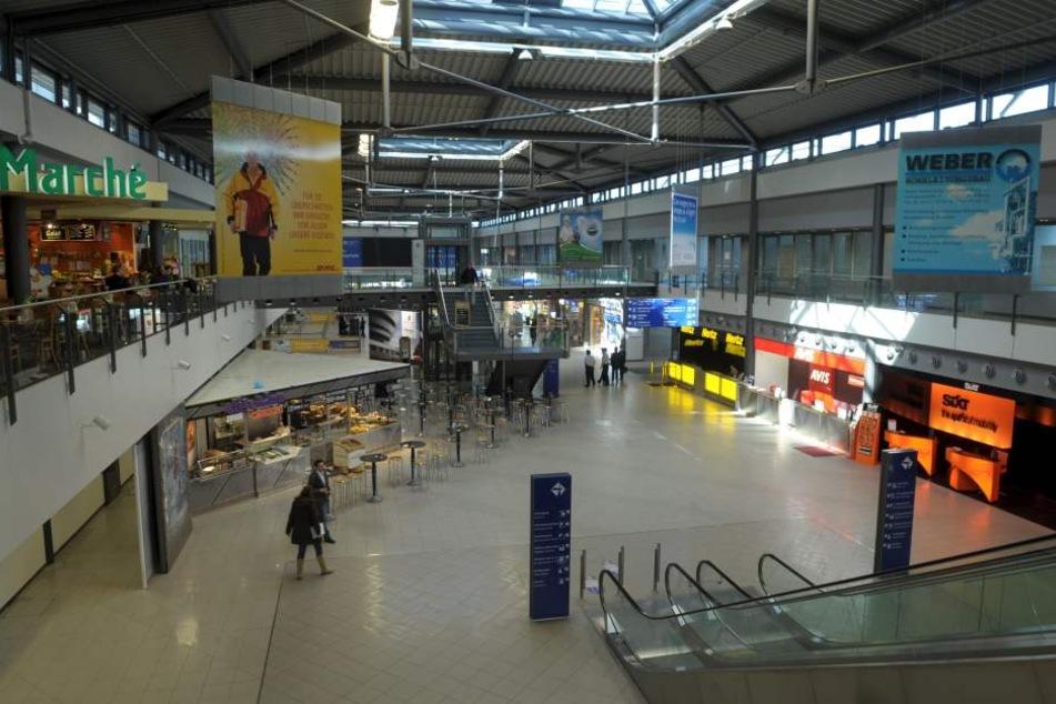 Statt mehr Frachtverkehr wünscht sich der Linken-Kandidat ein höheres Passagieraufkommen - also mehr Fluggäste im Leipziger Airport.