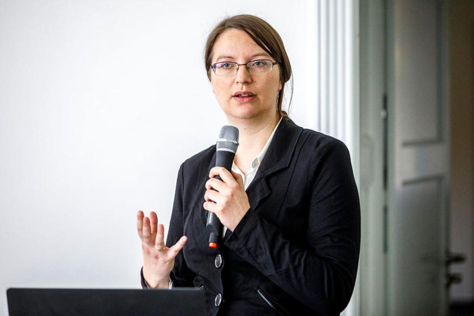 Antje Röder stellte am Montag die Ergebnisse der Studie vor.