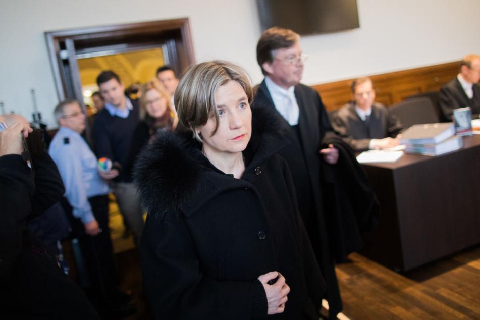 Maike Kohl-Richter, die Witwe des Altkanzlers Helmut Kohl, am Donnerstag in Köln.