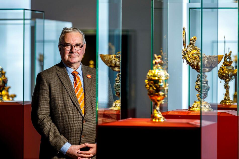 Der Kunsthistoriker Dirk Syndram (66) ist seit 1993 Direktor des Grünen Gewölbes.