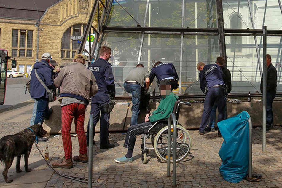 "Polizei kündigt verstärkt Razzien an der ""Tüte"" an"