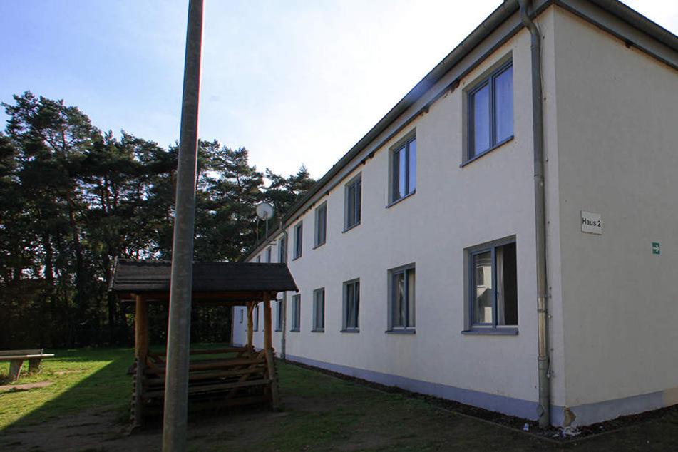 Die Zentrale Aufnahmeeinrichtung des Landes für Flüchtlinge in Nostorf/Horst bei Boizenburg in Mecklenburg-Vorpommern.