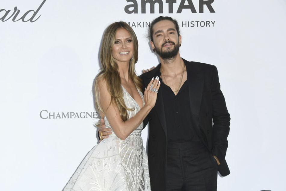 Bei der amfAR-Gala am Rande der Filmfestspiele in Cannes feierten Heidi Klum und Bill Kaulitz ihr Debüt auf den Roten Teppich.