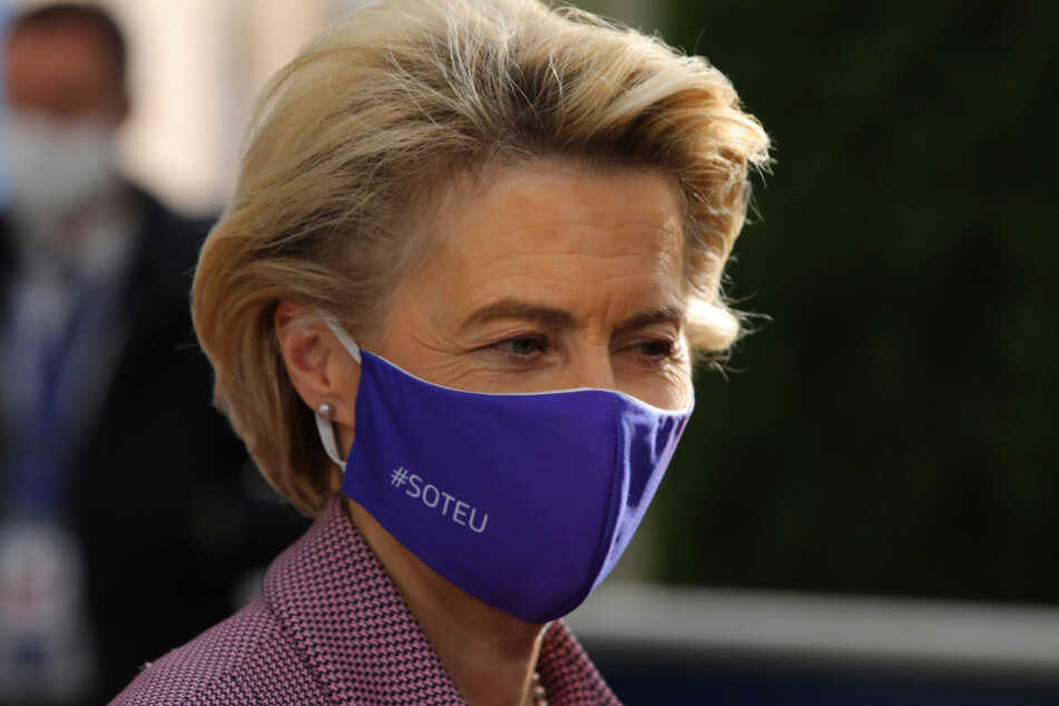 EU-Kommissionschefin Ursula von der Leyen (62).