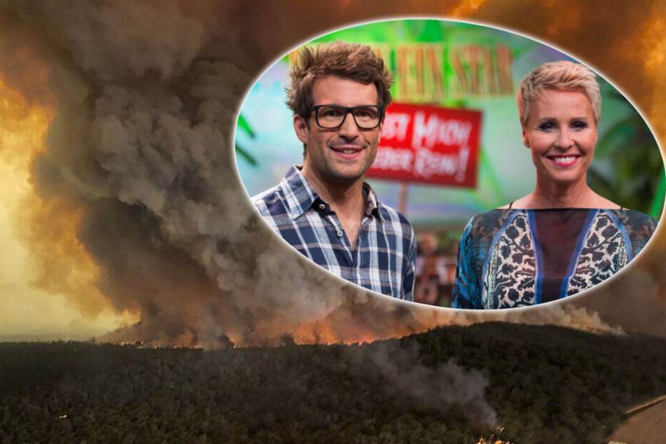 Dschungelcamp: Feuerhölle Australien: Muss das Dschungelcamp jetzt abgesagt werden?