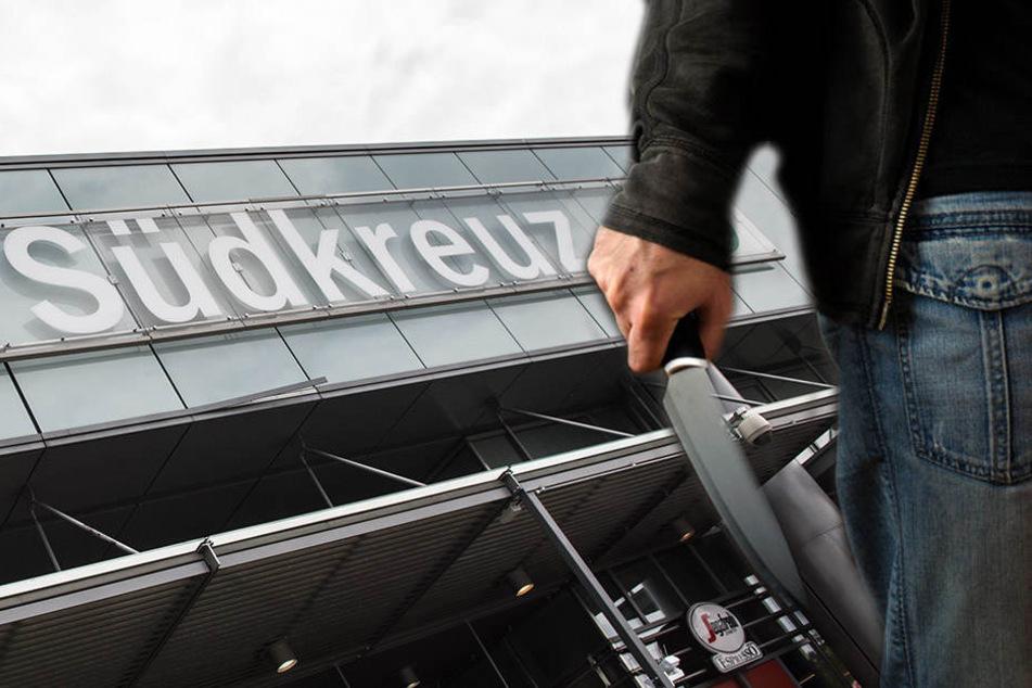 Am Bahnhof Südkreuz wurden die Männer dann von der Bundespolizei festgenommen. (Symbolbild)