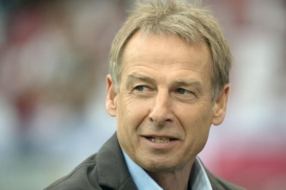 Freut sich schon: Jürgen Klinsmann.