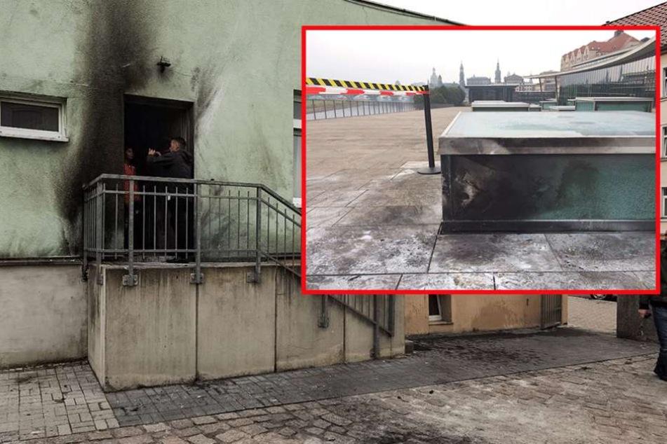 Dresden: Sprengstoffanschläge auf Moschee und Congress Center