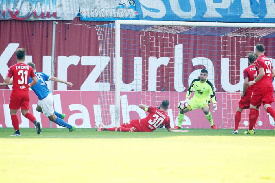 5:0 - das war ein deutliches Zeichen für den FSV am Sonntag bei Hansa Rostock.