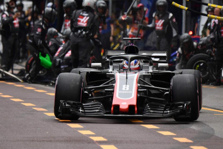 Romain Grosjean fährt für den Haas-Rennstall.
