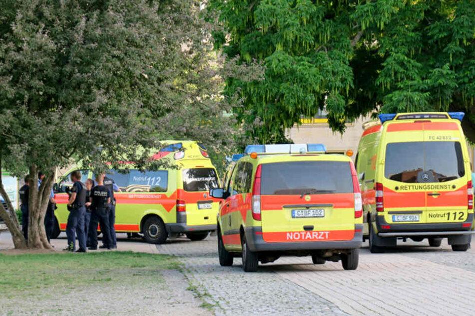 Der 39-Jährige kam verletzt ins Krankenhaus. (Archivbild)