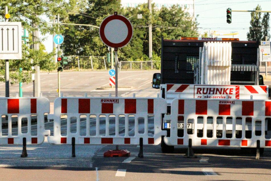 Wegen der Entschärfung einer Bombe in der brandenburgischen Landeshauptstadt wurde ein Sperrkreis eingerichtet.