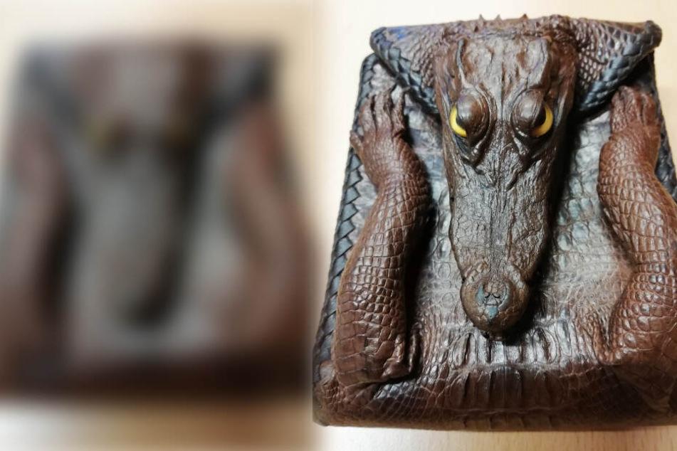 Bei dem Krokodil handelt es sich nach Prüfung durch den Zoll um ein sog. Siam-Krokodil.