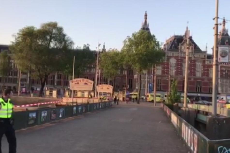 Auto rast in Fußgänger in Amsterdam: Kein Terroranschlag