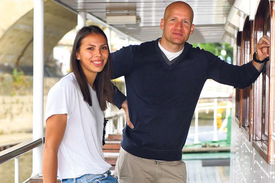 Sasa Planinsec mit ihrem Freund Goran Mladenic.