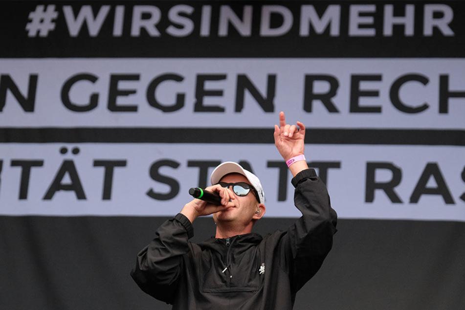 #Wirsindmehr: Chemnitz machte sich Anfang September gegen rechts stark.