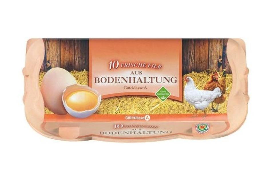 Wegen Salmonellen werden diese Eier zurückgerufen.