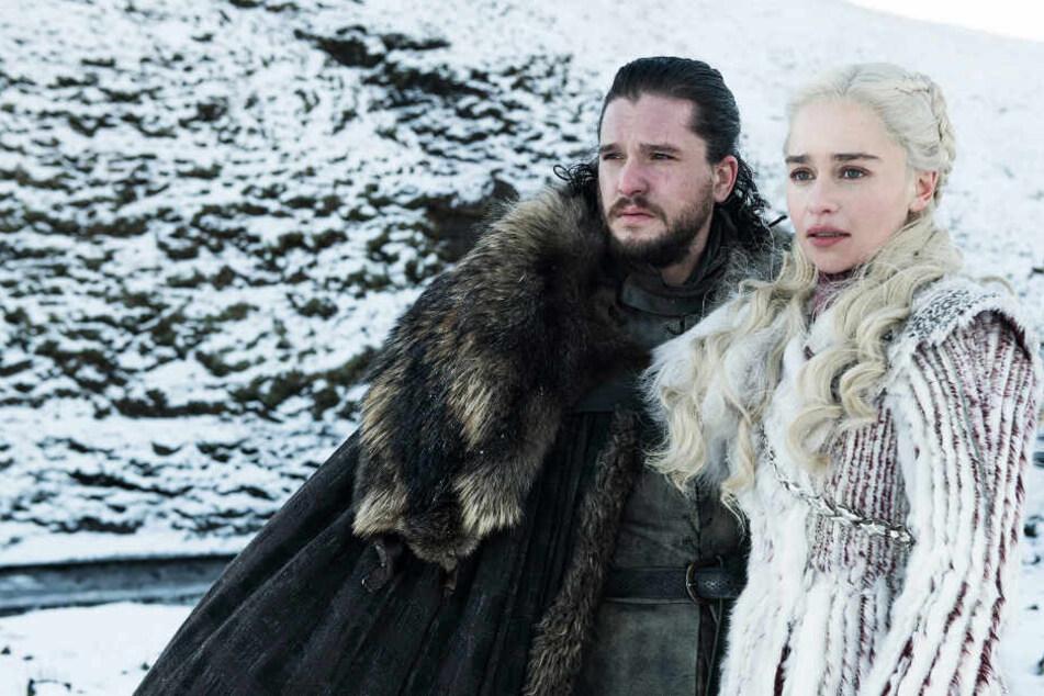 """Die Vorfahren von Daenerys (Emilia Clarke) und Aegon Targaryen (Kit Harington) sollen in der neuen Serie """"House of the Dragon"""" im Fokus stehen."""