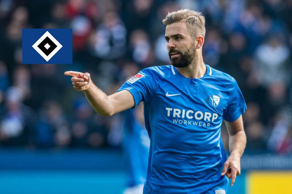 HSV verpflichtet Bochum-Star Lukas Hinterseer