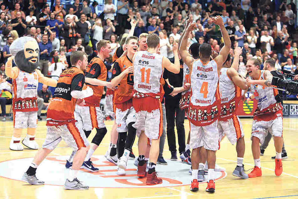 Die Niners könnten in wenigen Tagen in die Basketball-Bundesliga  aufsteigen.